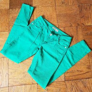 Paris Blues   Green skinny jeans